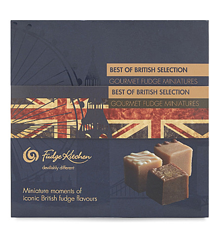FUDGE KITCHEN Best of British gourmet fudge miniatures 190g
