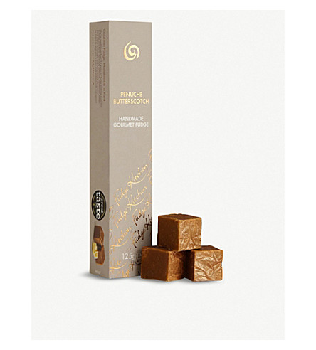 FUDGE KITCHEN Golden butterscotch fudge slim 125g