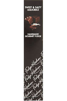 FUDGE KITCHEN Sweet & Salty Liquorice fudge 125g