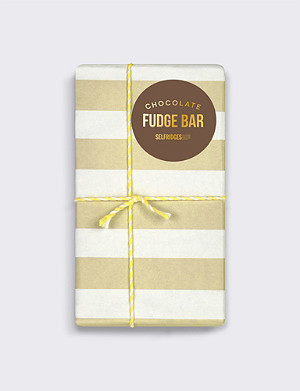SELFRIDGES SELECTION Chocolate Fudge bar