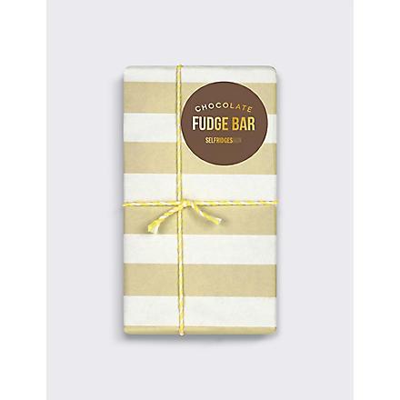 SELFRIDGES SELECTION Chocolate Fudge bar