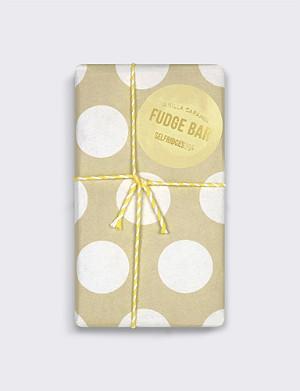 SELFRIDGES SELECTION Caramel & Vanilla Fudge bar