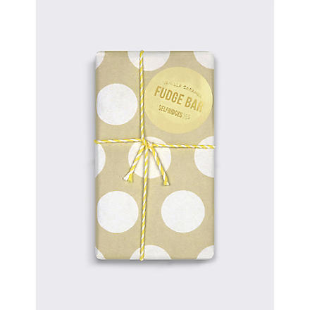 SELFRIDGES SELECTION Caramel & Vanilla Fudge bar