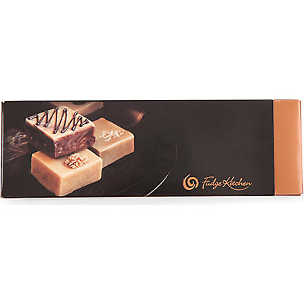 FUDGE KITCHEN Square fudge trio set