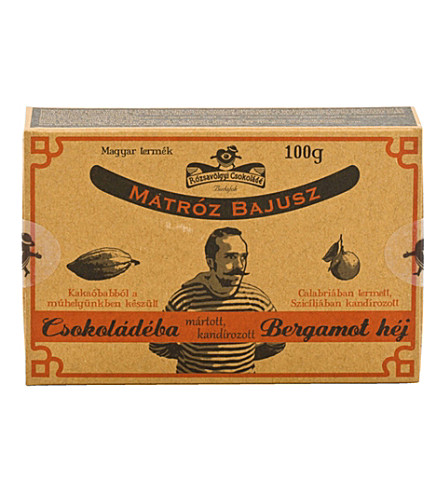 ROZSAVOLGYI Bergamont in dark chocolate 100g