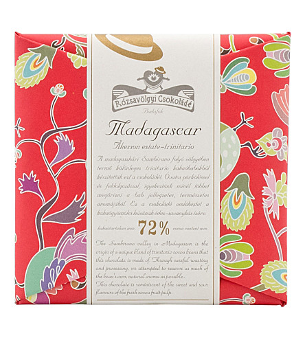 ROZSAVOLGYI Trinitario Madagascar dark chocolate bar 70g