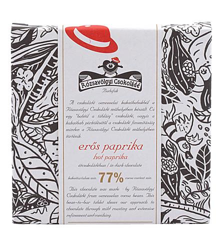 ROZSAVOLGYI Dark chocolate with hot paprika 70g