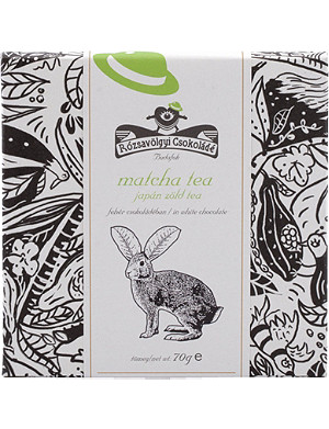 ROZSAVOLGYI White chocolate with Matcha tea 70g