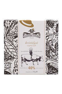 ROZSAVOLGYI Milk chocolate with Himalaya salt 70g
