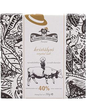 ROZSAVOLGYI Milk chocolate with Himalaya salt 70g