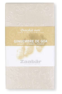 ZAABAR Gingembre De Goa dark chocolate bar 70g