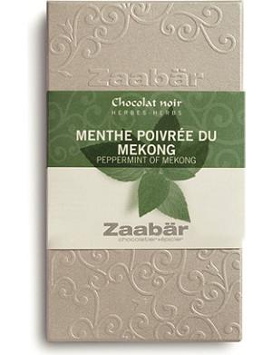 ZAABAR Peppermint of Mekong dark chocolate bar 70g