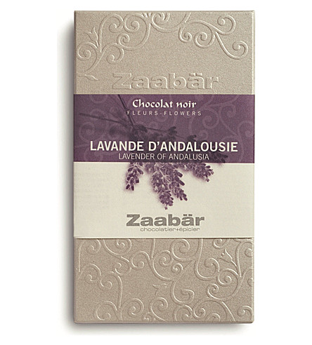 ZAABAR Andalusia lavender duo dark chocolate