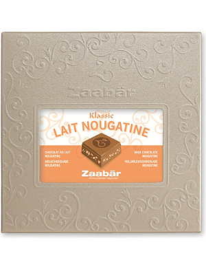 ZAABAR Classic milk with nougatine 100g
