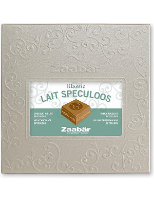 ZAABAR Classic milk chocolate with Speculoos cookie