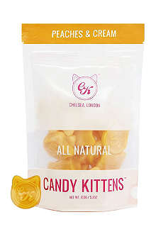 CANDY KITTENS Peaches and cream gummy sweets 150g