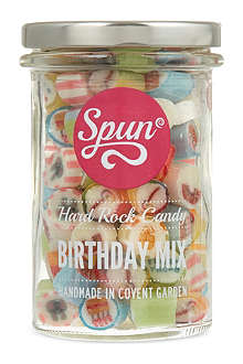 SPUN CANDY Hard rock birthday mix jar 200g