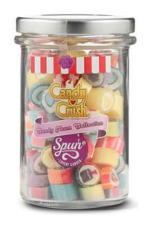 SPUN CANDY Candy Crush Candy Town collection 200g