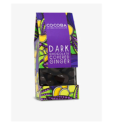 COCOBA Chocolate covered ginger 200g