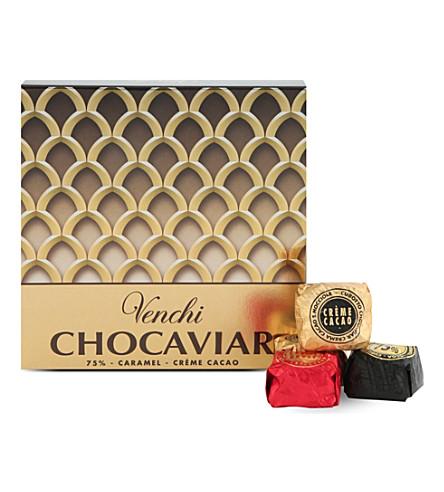 VENCHI Assorted Cubotti Chocaviar gift box 150g