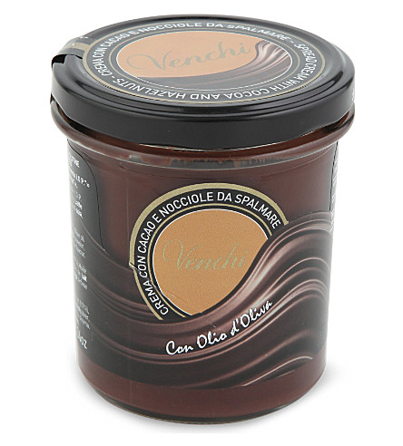VENCHI Hazelnut and cocoa spread