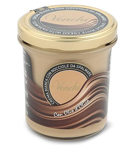 VENCHI White chocolate hazelnut spread