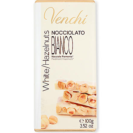 VENCHI White hazelnut chocolate bar