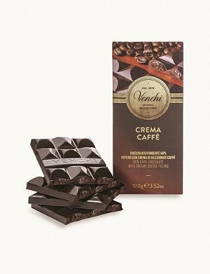 VENCHI Coffee filled chocolate bar