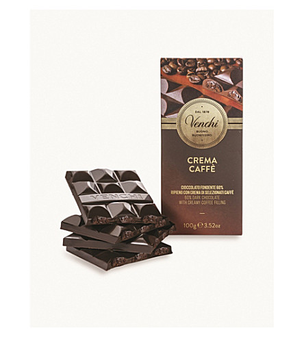 VENCHI Coffee filled chocolate bar