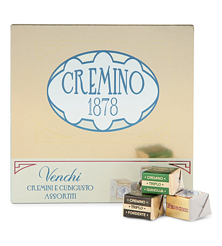 VENCHI Cubigusto cremini chocolate selection