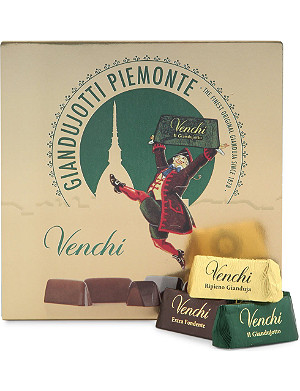 VENCHI Giandujotto chocolate selection box 12 pieces