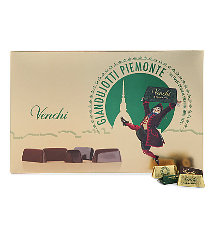 VENCHI Giandujotto chocolate selection box 24 pieces
