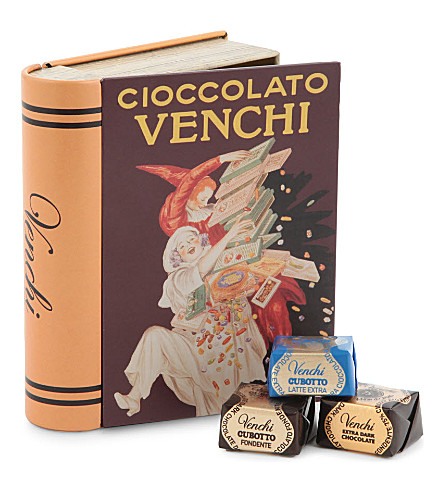 VENCHI Mini tin book chocolate box