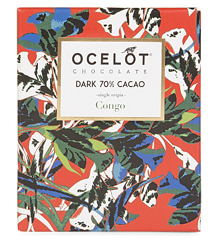 OCELOT Single-origin Congo dark chocolate 75g