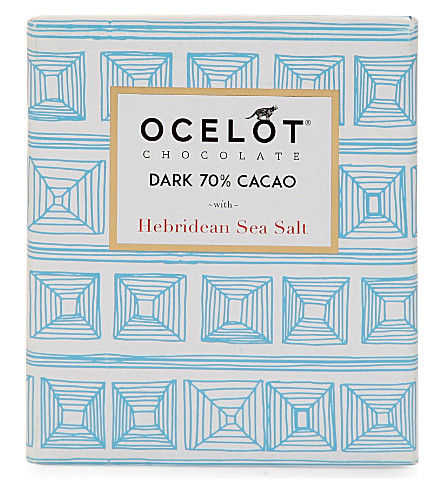 OCELOT Single-origin dark chocolate with fig & orange 75g
