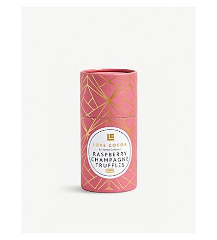 LOVE COCOA覆盆子香槟白巧克力褶皱150g