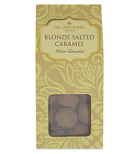 THE CHOCOLATIER Blonde salted caramel truffles 110g