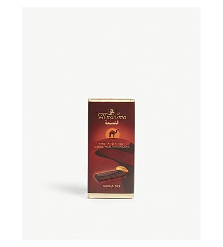 AL NASSMA Cocoa 70% camel milk chocolate bar 70g