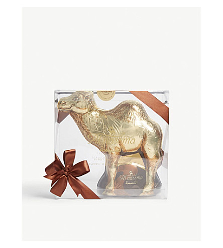 AL NASSMA Camel milk chocolate camel 730g