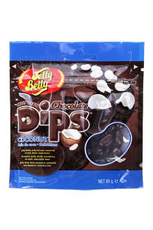 JELLY BELLY Coconut chocolate dips 80g