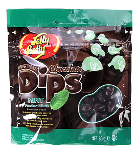 JELLY BELLY Mint chocolate dips 80g