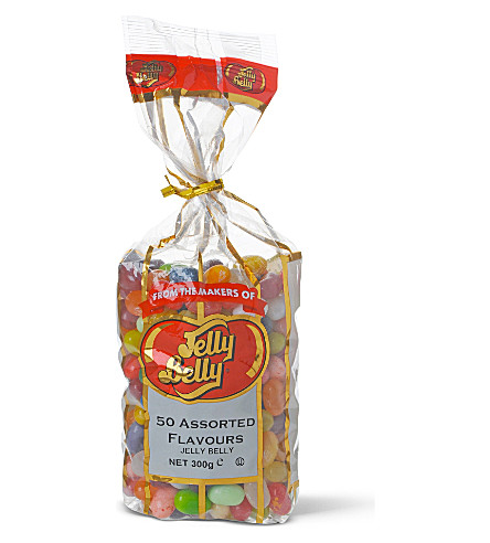 JELLY BELLY Bag of 50 assorted jelly bean flavours