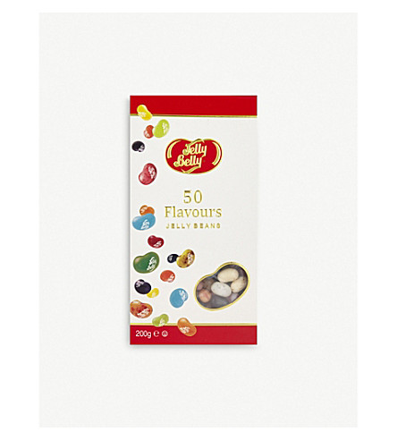 JELLY BELLY 50 flavours jelly beans 200g