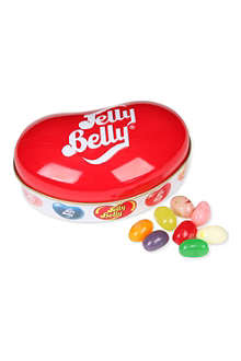 JELLY BELLY Bean shaped tin with jelly beans 65g