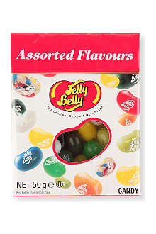 JELLY BELLY Assorted flavours jelly beans box 50g