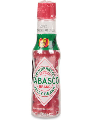 JELLY BELLY Tabasco jelly beans bottle 42g
