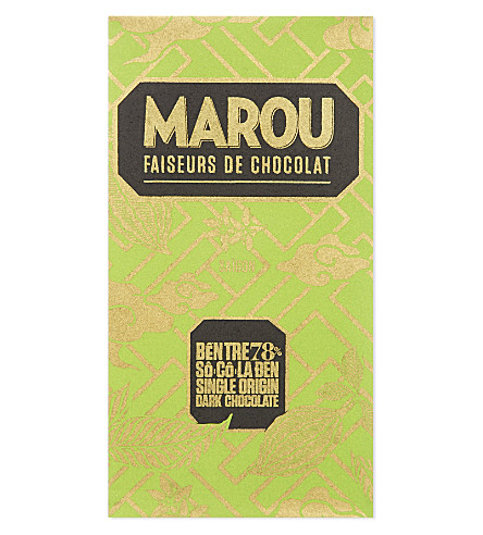 MAROU Single origin 78% dark chocolate 100g