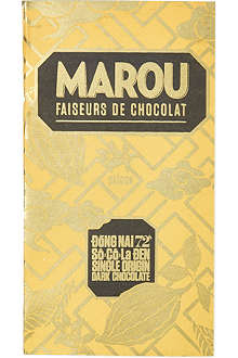 MAROU Single origin 72% dark chocolate bar 100g