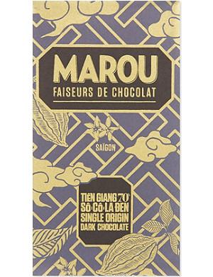 MAROU Single origin 70% dark chocolate bar 100g