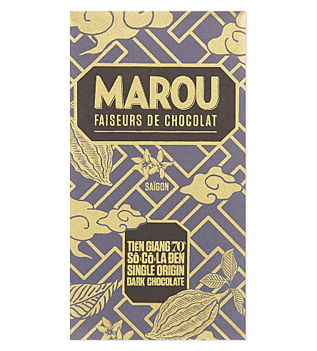 MAROU Single origin 70% dark chocolate bar 100g